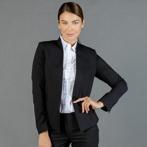 1721WJ Womens Washable Crop Jacket