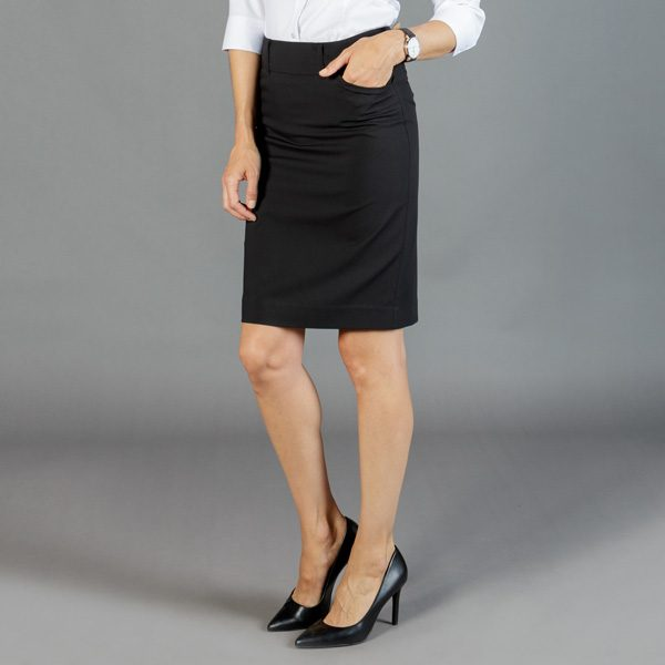 1724WSK Womens Washable Pencil Skirt
