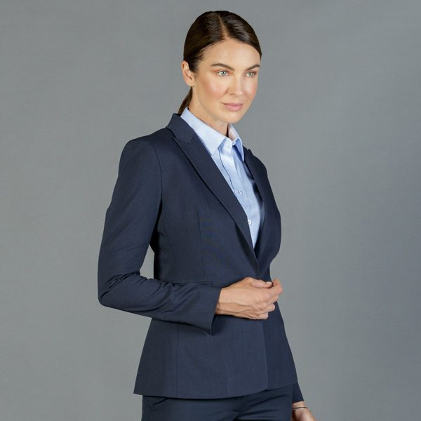 1765WJ Womens Washable One Button Jacket