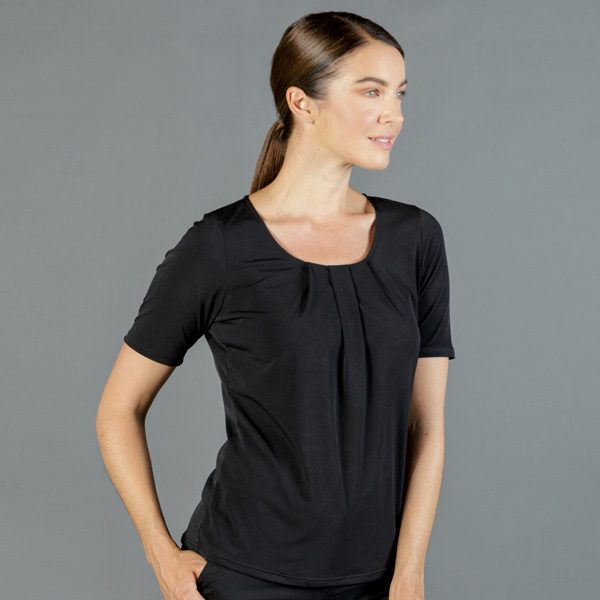 1890WS Cool Breeze Round Neck Top