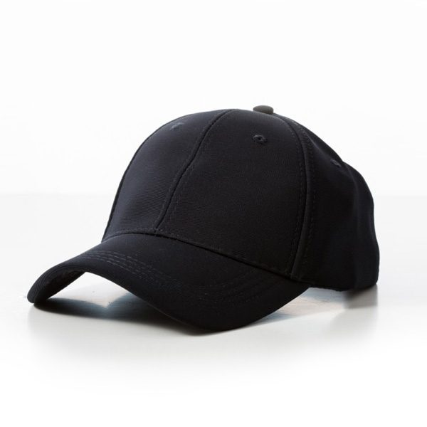 Polyester Ribbed Cap – Navy