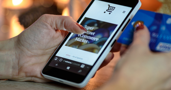 Ecommerce Solutions - Shop with your smartphone