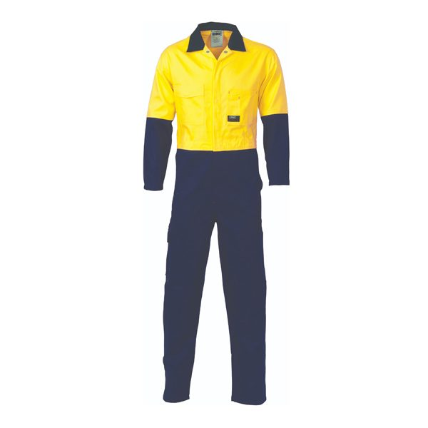 HiVis Two Tone Cotton Coverall