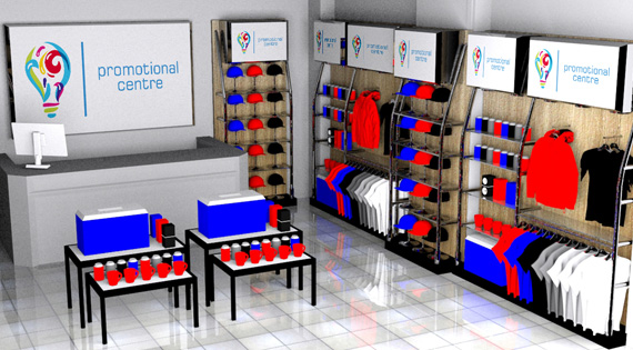 Promotional Centre - In Store Set Ups
