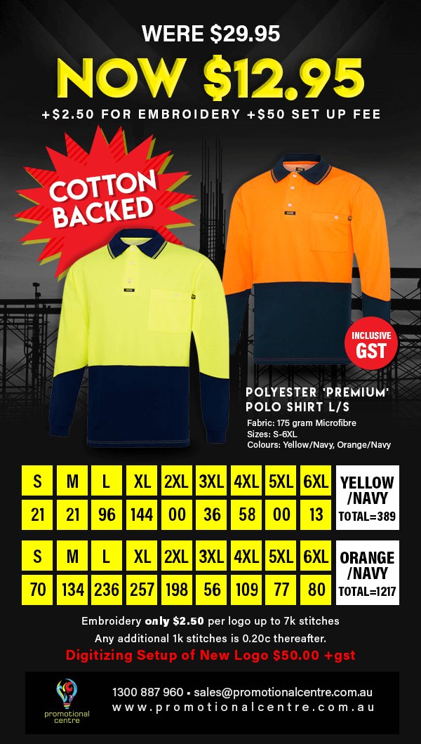 Promotional Centre - Specials - Polo Shirt